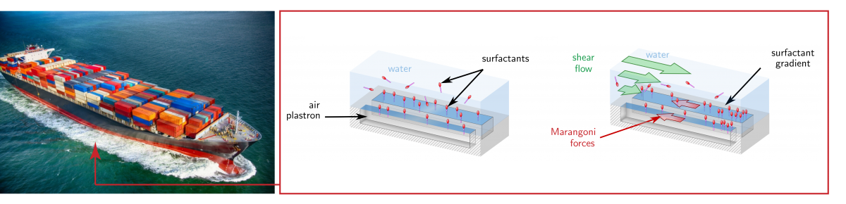 Surfactant effects on superhydrophobic surfaces